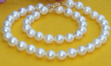 18 inch 12-11mm south sea white pearl necklace 14k gold