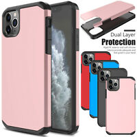 For iPhone 11 Pro Max/11/XR/XS Max Case Shockproof Rubber Hard Slim Armor Cover