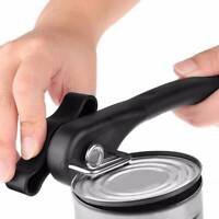 Professional Stainless Steel Manual Smooth Edge Safety Can Opener Easy Turn Knob