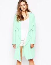 Y.A.S Vero Moda Women's Mint  Green Tropical Soft Jacket UK 10 EU 38 BU77