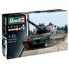 Revell 03320 Leopard 1A5 German Tank Model Kit (Level 4) (Scale 1:35)