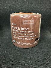 3M-07523 Gold Scotch-Brite Ultra Fine Abrasive Sheets (60 sheets) (3M-7523)