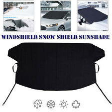 1x Windshield Snow Cover Ice Protector Sun Shade Waterproof Frost Rain Resistant