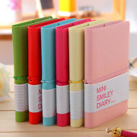 """Cute """"Smiley"""" Mini Pocket Notebook Paper Memo Diary Planner Tiny Journal Notepad"""