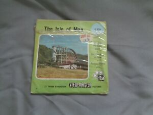 HARD TO FIND SAWYERS VIEWMASTER PACKET REF C278 THE ISLE OF MAN
