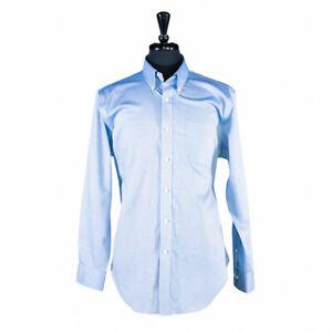 Ralph Lauren Men's Dress Shirt Button Up Long Sleeve Blue Classic Fit 16.5 Large