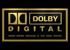 Heimkino Schild / Druck - DTS - THX - Dolby Digital - Teufel - Cambridge Audio