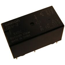 OMRON g5v2-5 relais 5v DC 2xum 2a 50r relay for signal circuits 854065
