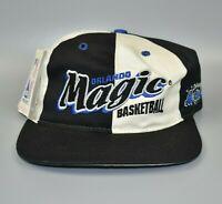 Orlando Magic NBA Vintage 90's Twins Enterprise Pinwheel Snapback Cap Hat - NWT