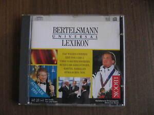 """CD-ROM für PC  """"Bertelsmann Universal Lexikon, 1995"""", gute Qualität, siehe Fotos"""