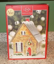 Lenox Home for the Holidays Cookie Jar, NIB