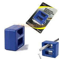 Magnetizer Demagnetizer Magnetic Pick Up Tool for Screwdriver Tips Screw Bit