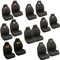 NHL Pick Your Teams Car Truck 2 Front Bucket Seat Covers Set - Official Licensed