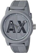 Armani Exchange Men's AX1452 ATLC Grey Silicone Watch