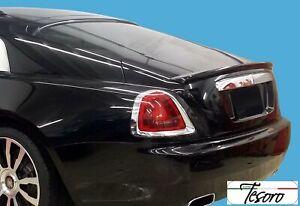 2013-2017  Rolls Royce Wraith Tesoro Style Rear Trunk Lip Spoiler (UNPAINTED)