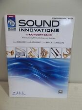 SOUND INNOVATIONS FOR CONCERT BAND Bb TENOR SAXOPHONE BOOK 1