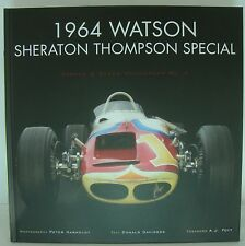 1964  Watson Sheraton Thompson Special Hardcover Book A.J. Foyt