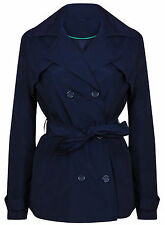 Polyester Button Raincoats Casual Coats & Jackets for Women