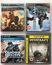 PS3 Game Bundle - Bulletstorm + Inversion + Ghost Recon + Resistance - (111)