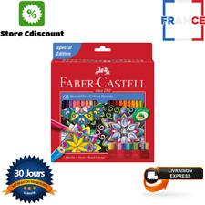 Lot de 60 Crayons Couleur Chateau Accordeon Edition 3,8 mm Art Plastique Dessin