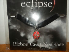 TWILIGHT ECLIPSE RIBBON CREST   NECKLACE FROM HOT TOPIC FROM 2010