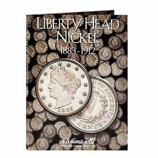 H E HARRIS #2677 Coin Folder Liberty Head or V - Nickel 1883-1912