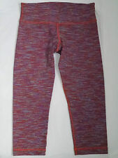 LULULEMON Wee Are From Space Dye Wunder Under Crop pants size 8 WORN ONCE *RARE*