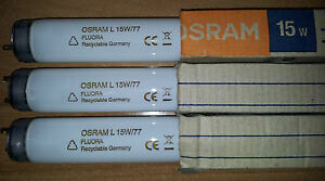 OSRAM Fluora L 15W/77 Neon Tube Fluorescent T8 15W 400 Lm - Price For 1 Neon