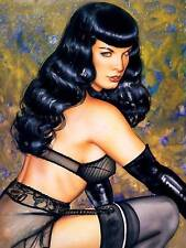 Bettie Page 4x6 Risque FREE US SHIPPING