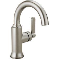 Delta Alux SpotShield Brushed Nickel 1-handle Single Hole Bathroom Faucet New