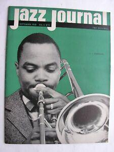 JAZZ JOURNAL Sept 1958 Wilbur De Paris Newport Festival Storyville J. J. Johnson
