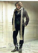 Publicité Advertising 1020 2009  Olivier Strelli  mode   haute couture homme 2**