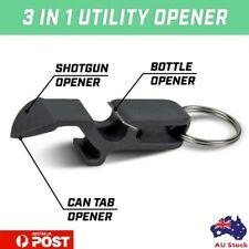 Shotgun Tool Beer Opener, for Cans Bottles Soda Multi-purpose Keychain