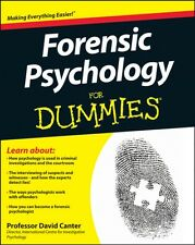 Forensic Psychology For Dummies (Paperback), Canter, David D., Ra. 9781119976240