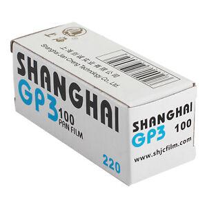 Shanghai 220 GP3 Black / White Roll Film ISO 100 Negative B/W 10-2023 Freshest