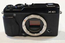 Fujifilm Fuji X Series X-E1 16.3MP Camera - Black Body Only