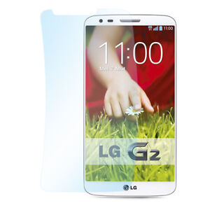 9x Super Clear Schutzfolie LG G2 Klar Durchsichtig Dünn Display Screen Protector