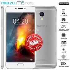 MEIZU Octa Core Factory Unlocked Silver Mobile Phones