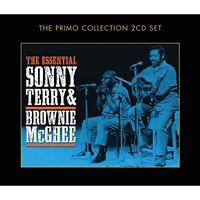 SONNY TERRY & BROWNIE MCGHEE - THE ESSENTIAL 2 CD NEU