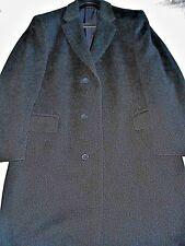 $600 NWT TM LEWIN London 40 R eu50 Charcoal Chesterfield men's wool winter coat