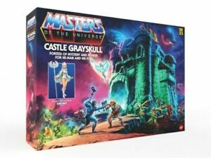 Mattel Masters of the Universe Origins Castle Grayskull Playset In Hand 2021