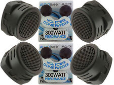 2 Pairs of  New Model 600W Total Super High Frequency Mini Car Tweeters USA Ship