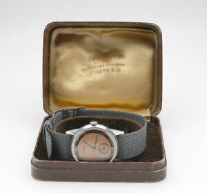 Armbanduhr JUNGHANS Handaufzug 40er Jahre Original Top Zustand neue Revision RAR