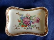 Vintage J D Limoges France. A very pretty trinket dish. G Remy.