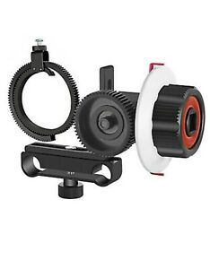 NEW! Neewer Follow Focus + Gear Ring Belt For Canon Nikon Sony Camera Red+Black