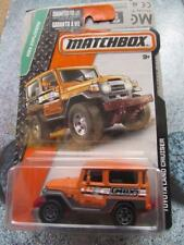 Matchbox 2015 #113/120 TOYOTA LAND CRUISER MBX EXPLORERS Long Card