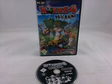 Worms 4 Mayhem PC 2006 DVD Box
