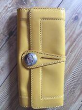 FRANCESCO BIASIA wallet Leather Yellow