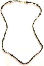Hematite Necklace/Chain Magnetic Healing Power Balls/Tube/Ayurvedic/acupressure
