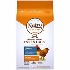 Nutro Wholesome Essentials Natural Chicken & Brown Rice Recipe Dry Cat Food, 5